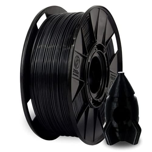 Filamento PETG 1,0 kg para Impressora 3D (Preto)