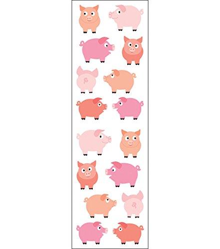 Mrs Grossman Stickers-Chubby Pigs