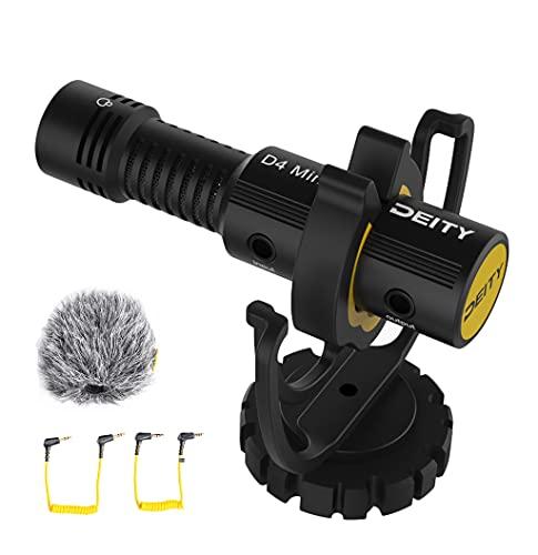 Deity V-Mic D4 Mini Microphone Super Cardioid Compact On-Camera...