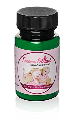 Cassava Twins 1 Month Supply Organic Cassava Root - Fertility Supplement for Twins - Vitamin for a Natural Pregnancy