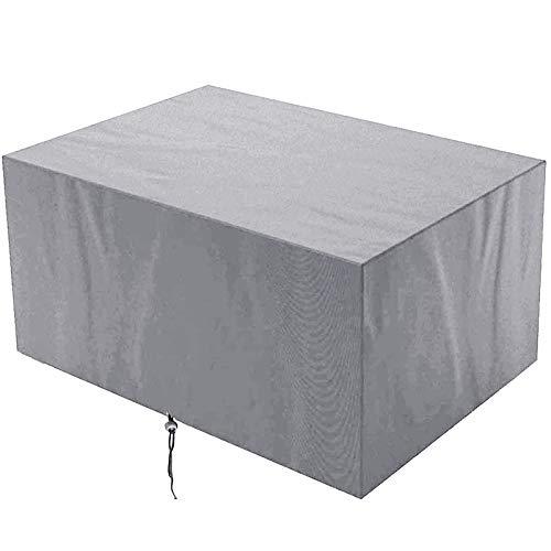 KANGLIPU Cubierta de Muebles 180x150x80cm Impermeable Anti-UV Cubierta Oxford de Exterior Anti-desvanecimiento para Sofa de Jardin, al Aire Libre, Patio, Gris
