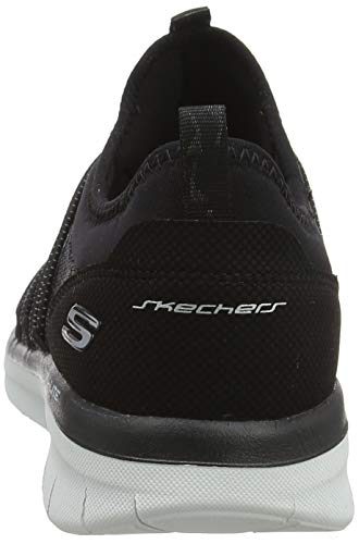 41UOwm+Iy6L - Skechers Women 12379 Slip On Trainers