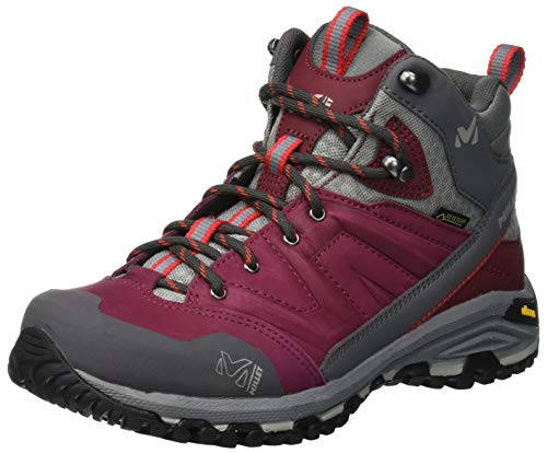 Millet Women's Ld Mid GTX W High Rise Hiking Shoes, Red (Burgundy 3001)