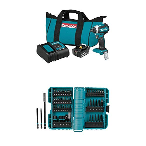 For Sale! Makita XDT131 18V LXT Lithium-Ion Brushless Cordless Impact Driver Kit (3.0Ah) and A-98348...