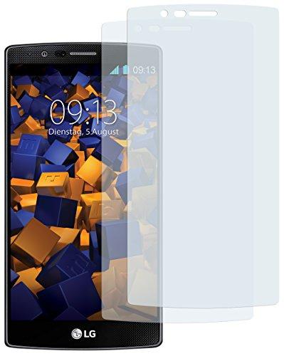 mumbi Schutzfolie kompatibel mit LG G4 Folie klar, Bildschirmschutzfolie (2X)