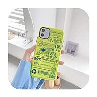 スペース宇宙飛行士ロケット蛍光電話ケースfor iPhone SE 2020 7 8 Plus 11 Pro X XS MAX XR-2-for iPhone SE 2020