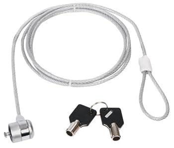 Konig electronic CMP-SAFE3 Cable Antivol universel pour ordinateur portable netbook notebook 2 clés incluses