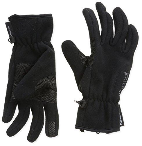 Marmot Windstopper Gants Femme Noir (Black) - L
