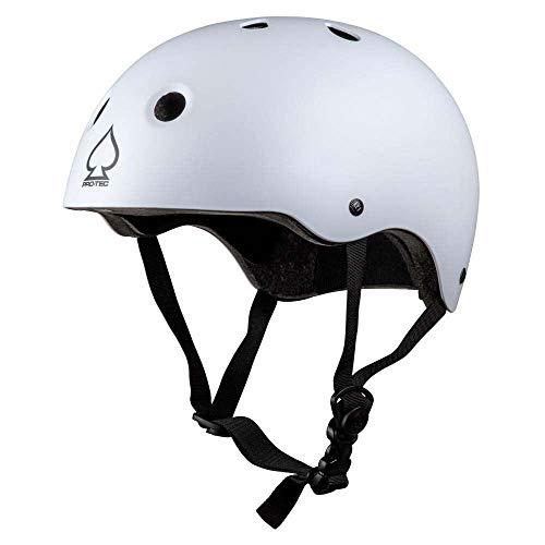 Pro-Tec Helmet Prime Skateboard-Helm, Unisex, Erwachsene, Unisex, Weiß (White), XS-S