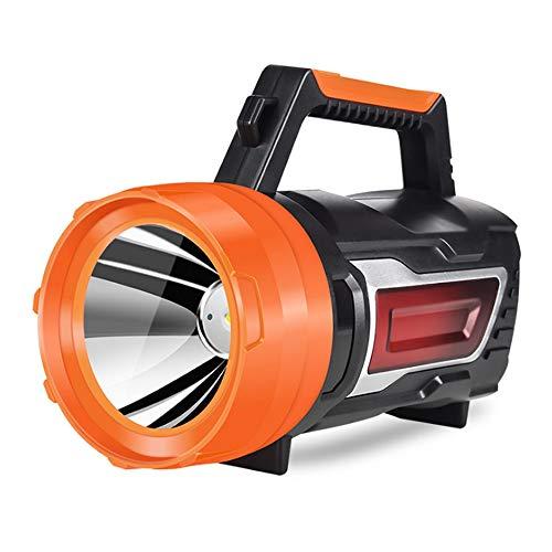 HXXBY Starke leichte Taschenlampe Außenbereich Wiederaufladbare tragbare, Notlicht-Suchscheinwerfer kann überzeugt Werden, um Strom zu erzeugen - jederzeit, überall