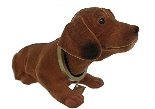 Wackeldackel 32 cm Wackelkopfhund Dackel Hund Figur Made in Germany