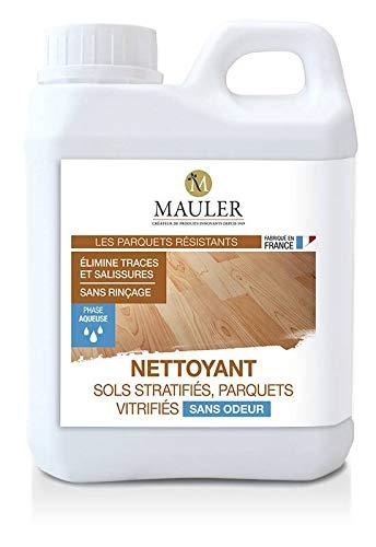 Limpiador de suelos laminados y parqué vitrificados sin olor, 1 litro