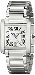 Cartier Men's W51002Q3 Tank Francaise Automatic Watch image