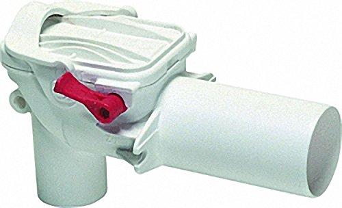 Kessel-Rückstauverschluss Staufix 73051 Siphon aus Kunststoff DN50