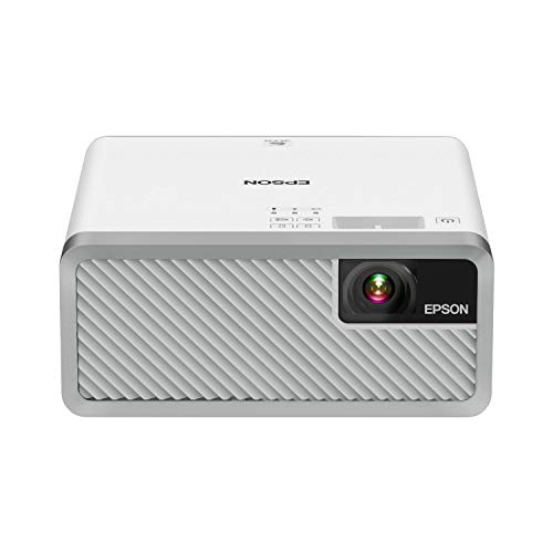 Epson EF-100 Smart Streaming Laser Projector with Android TV - White