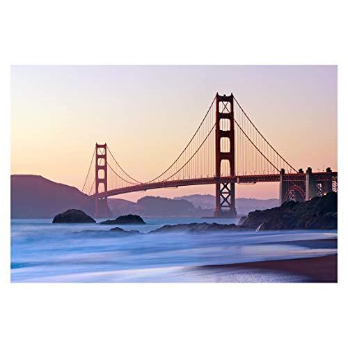 Fototapete selbstklebend - San Francisco Romance - Wandbild 225 x 336 cm