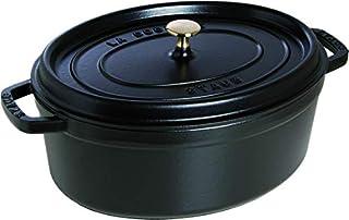 Staub Cooking Pot, Cast Iron, Black, 33cm (B001EPC8OQ)   Amazon price tracker / tracking, Amazon price history charts, Amazon price watches, Amazon price drop alerts