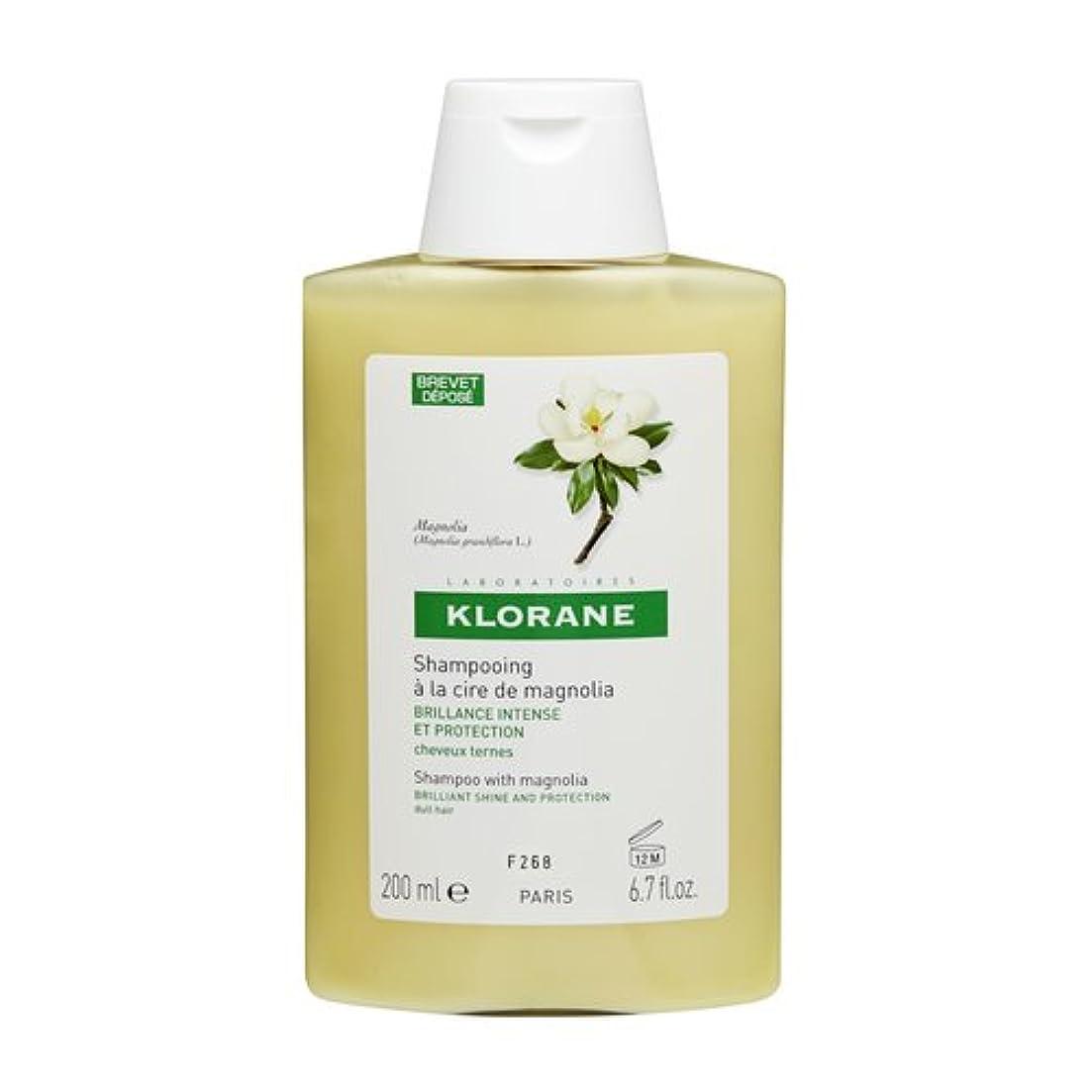 火薬ビリーヤギ発症Klorane Shampoo Magnolia Wax 200ml [並行輸入品]