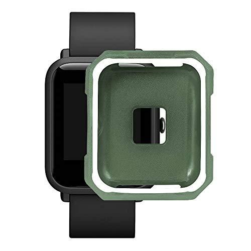 Crewell Schutzhülle für Amazfit Bip Bit Jugend-Armbanduhr aus TPU, weiche Hülle, Zubehör