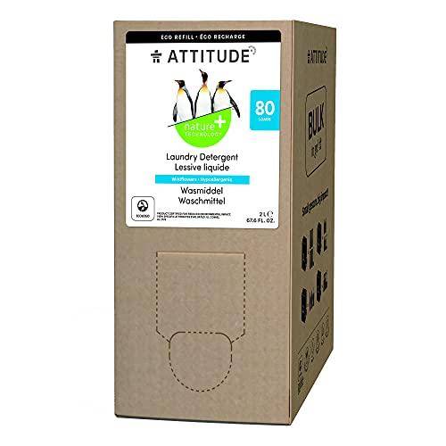 ATTITUDE Bulk to go Flüssig-Waschmittel zum Nachfüllen - Wildblumen (1 x 2000ml)