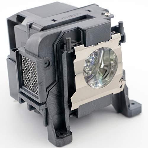 SUNLAPS para ELPLP89 Lámpara de proyector Repuesto NSHA 250W Bombilla con Carcasa para NOSPE Powerlite Home Cinema HC 4000...