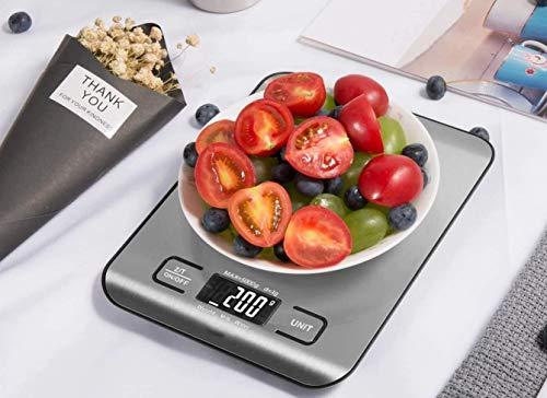 FLXi - Báscula de cocina digital para básculas electrónicas de alimentos –...