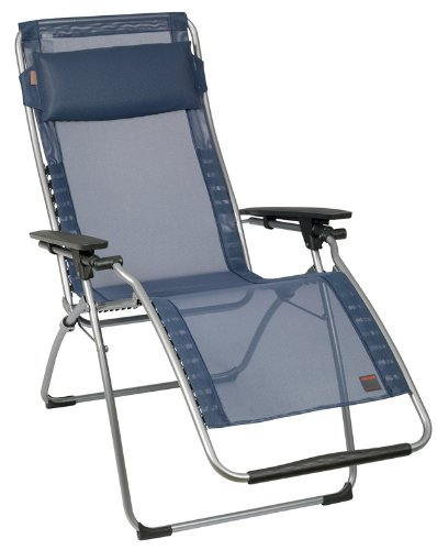 Lafuma Futura Zero Gravity Chair, Grey Steel Frame, Océan