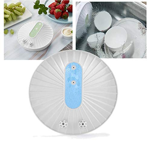 Mini Dishwasher Multifunctional USB Rechargeable Portable Ultrasonic Dishwasher Kitchen Cleaner with 10 Minutes Timer for Dishes Fruits Vegetables Blue