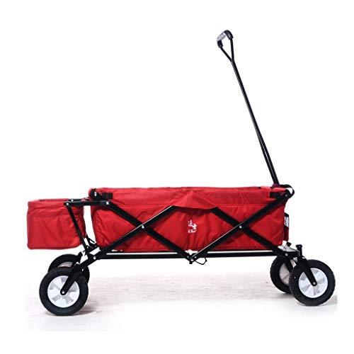 GFF Chariot de Grande capacité, remorque de vélo Pliante Portable Multifonctions Portable de Grande capacité Panier de magasinage sans nécessité d'installer Facile à Plier (Taille: avec Cadre AR
