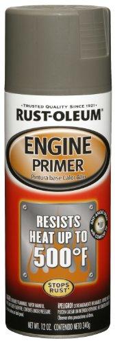Rust-Oleum 249410 Automotive Engine Primer, 12 Oz, Liquid, Gray, 12-Ounce