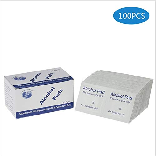 ARTIFUN Disposable Wet Wipes Alcohol 75/% Antivirus Medical Portable Sterilization Wipes Hand Cleasing Alcohlo Cotton