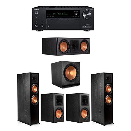 Best Prices! Klipsch5.1.2 Ebony System - 2 RP-8060FA,1 RP-600C,2 RP-600M,1 SPL-150,1 TX-NR797 Rece...