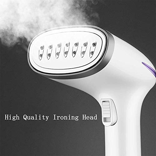 ZHLFDC Pressurization Steamer Portable - Handheld Garment Steamer for Travel and Home - Works at All Angles - Best Ironing Steamer for Clothing, Any Fabrics and CurtainsCurtains,1500W,290ML