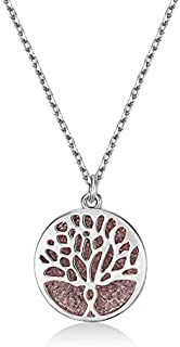 Mestige Necklace with Swarovski Crystals for Women - MFNE1006
