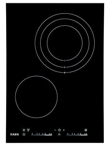 AEG HC452021EB–Kochfeld (zum Einbauen, Keramik, Schwarz, Touch-Bedienung, oben vorne)