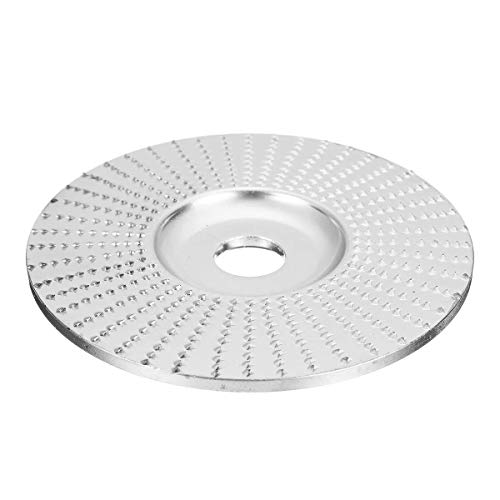 LONGJUAN-C Chrome Wood Carving Disc Grinding Wheel Sanding Abrasive Disc for Angle Grinder 100x16mm Woodworking Tools Tools