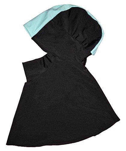 YEESAM Schwimmen Hijab Kapuze, Swim Hijab Sport, EIN Stück einfach zu tragen, muslimischer Badeanzug muslimische bademode für Frauen (Hijab 1)