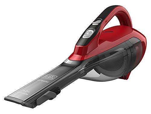 Black+Decker Dustbuster Aspiradora inalámbrica de iones de litio (rojo)