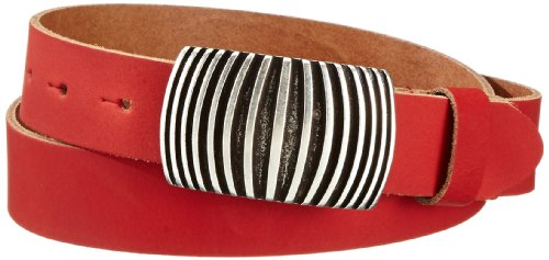 MGM Damen Gürtel 970-9729, Gr. 100, Rot (rot)