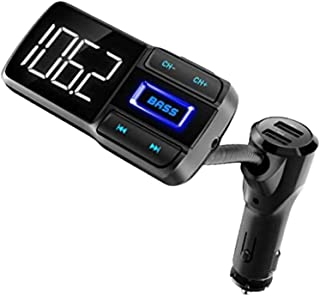 $34 » Sponsored Ad - YAT Wireless Handsfree Car Kit - Safe Driving with Hands Free Calling, Make Voice Prompted Calls with The I...