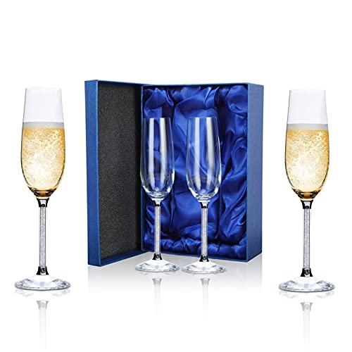 Champagner Gläser 2er-Set, Smalibal 220...