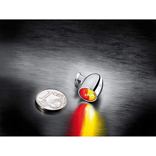 Kellermann LED Metall Rücklicht/Blinker M5 Atto® DF chrom