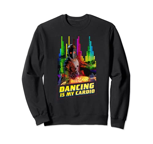 Marvel Star-Lord Peter Quill Dancing is My Cardio Sudadera