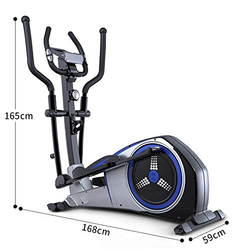 YAMMY 3 in 1 Professional Elliptical Cross Trainer, Cardio Home Office Fitness Workout Machine with Quiet Brake System for All Ages Max User Weight 150 Kg 4