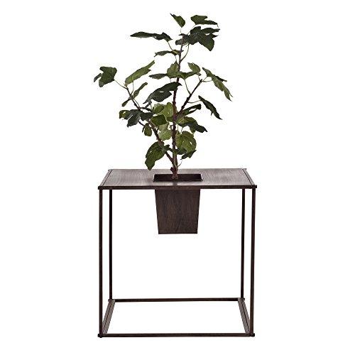 [casa.pro] Plant standaard met bloempot - 46 x 45 x 45cm