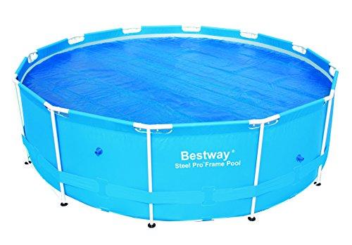 Bestway® Bâche de Protection Solaire pour Piscine Steel ProTM de 366 cm de diamètre 58242