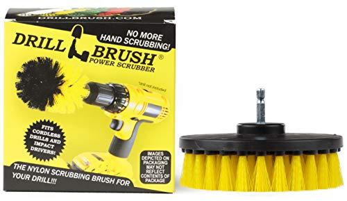 Drill Brush Power Scrubber Amarillo 13cm Accesorio Para Taladro de potencia depurador...