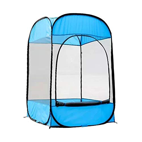 GTRHD Wasserdichtes Zelt Portable Outdoor Camping Zelt UV-Schutz Angeln Zelt Pop-Up-Moskitozelt für Outdoor Camping Wandern Strand mit Tragetasche Einfach zu zerlegen
