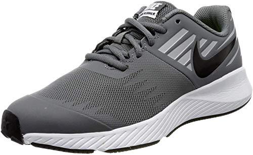 Nike Jungen Star Runner (GS) Walking-Schuh, Cool Grey/Black-Volt-Wolf Grey, 35.5 EU
