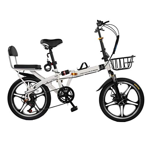 Review Of OFFA Bicycle Lightweight Mini Folding Bike for Adults, Women, Men, Rear Carry Rack, Bicycl...